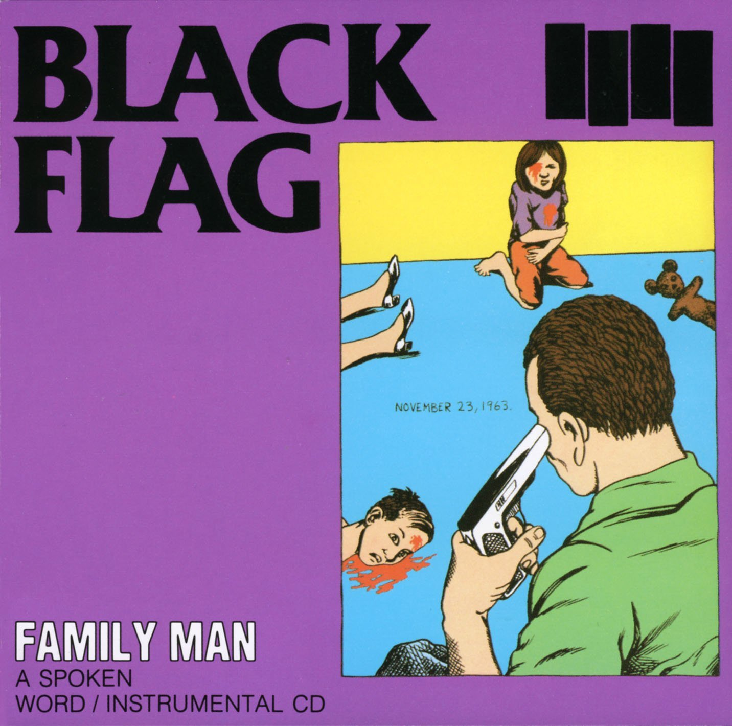 Black Flag, Family Man, SST 1984