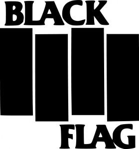Logo de Black Flack dessiné par Raymond Pettibon